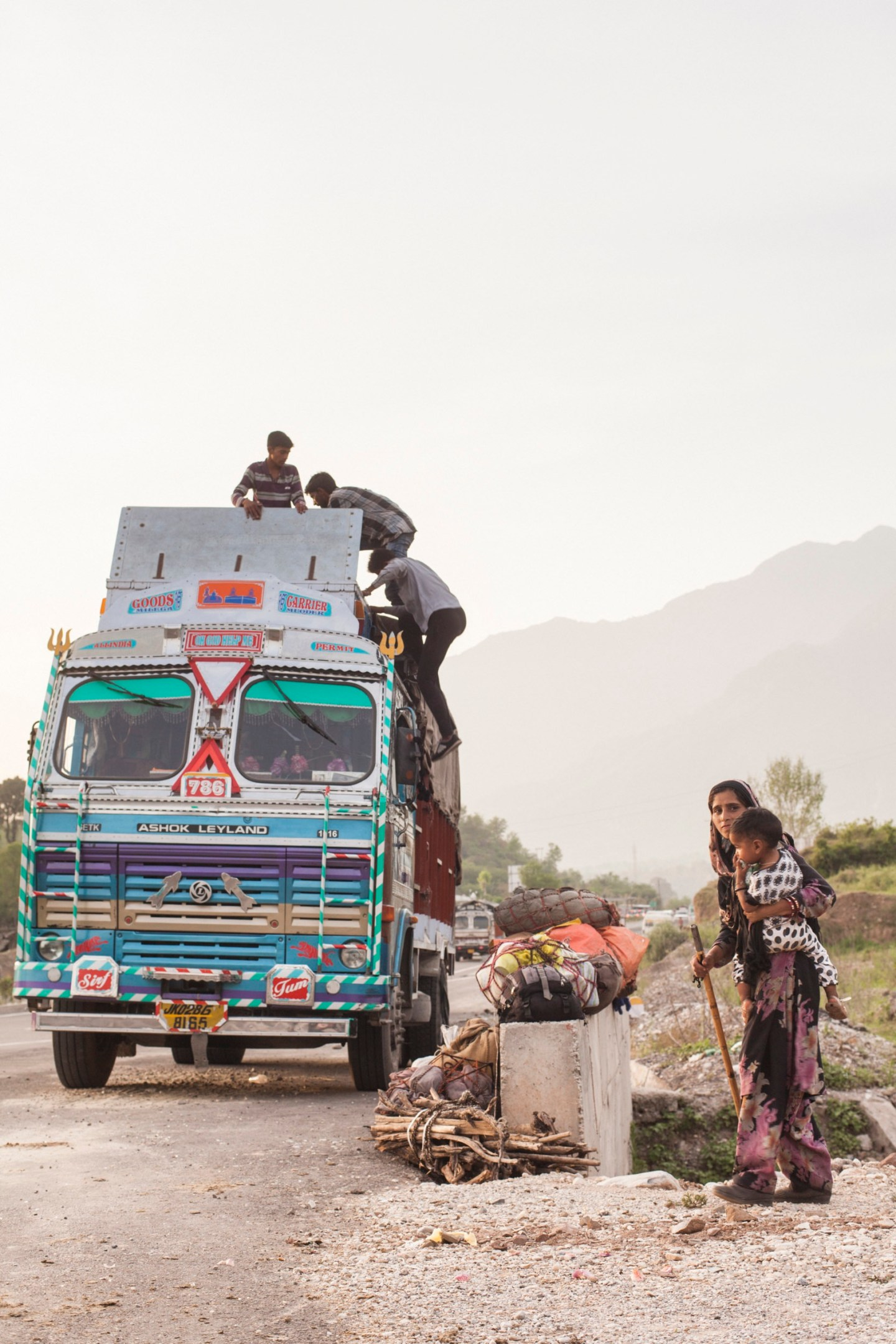 Truck de India Photo Rajat Ubhaykar Ozzie Hoppe