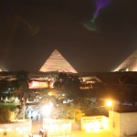 Giza-Pyramids-at-Night-Cairo Misr اهرامات الجيزه TravelXena.com