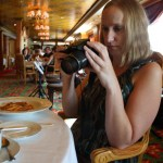 Le Bistro French Restaurant Paula Photographing Lunch TravelXena.com