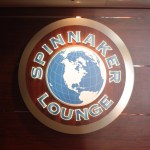 Spinnaker Lounge Sign Norwegian Jade TravelXena.com