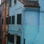 Burano-Italy-Blue-Cottage-Black-Shutters-TravelXena
