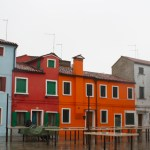 Burano-Italy-Blue-Orange-Red-Houses-TravelXena