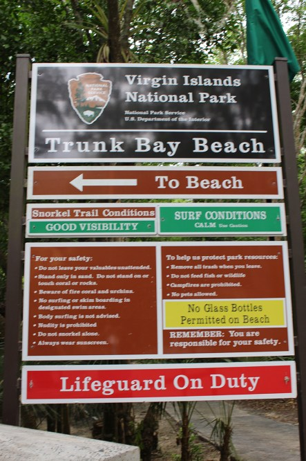 trunk Bay Beach Information St. John TravelXena