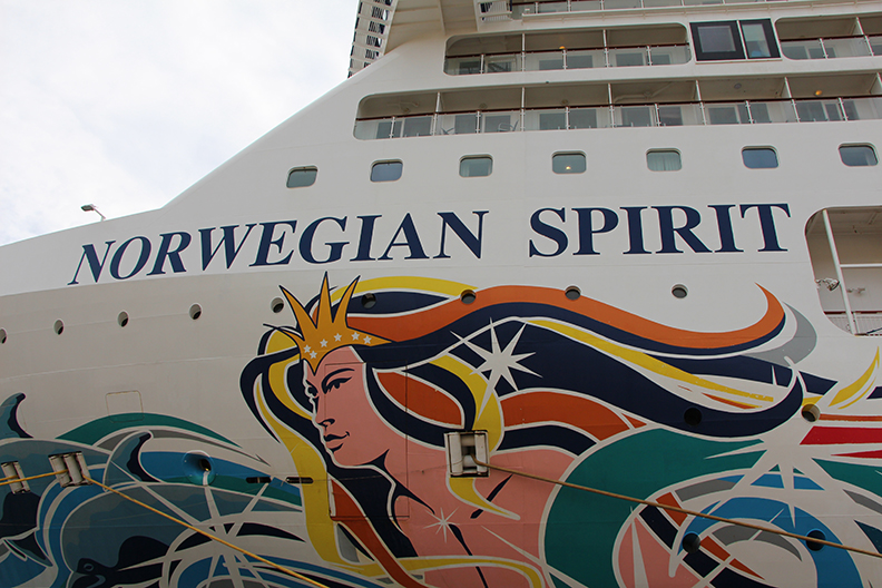 Norwegian Spirit Outside TravelXena 2