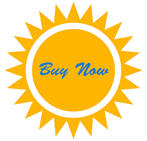 Buy Now Button with Sun Background