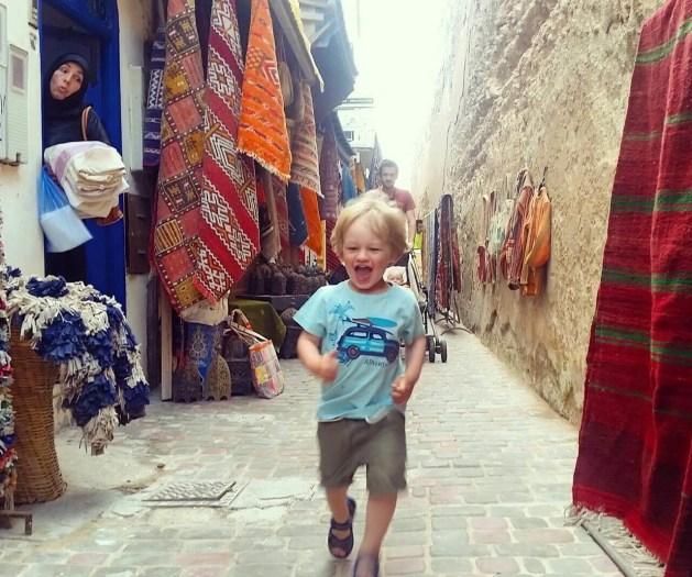 Essaouira with kids - medina