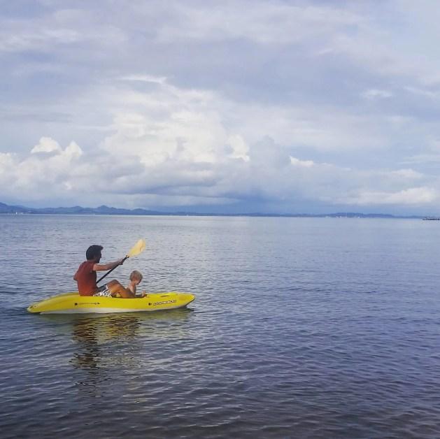 Kayaking on Koh Chang