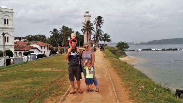 Sri Lanka Itinerary with kids - Galle