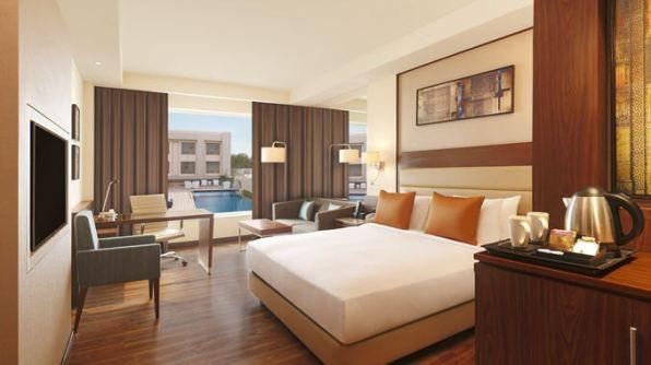 Hilton Agra bedroom