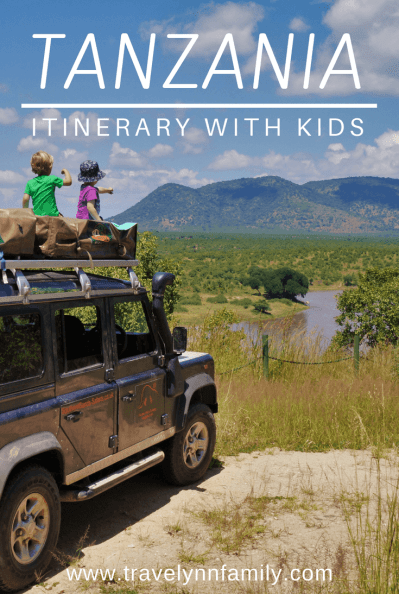 Tanzania itinerary with kids
