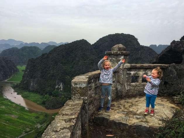 Ninh Binh with kids