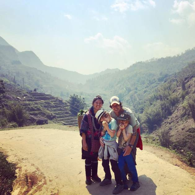 Sapa with kids