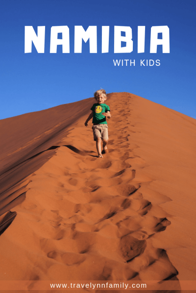 Namibia with kids