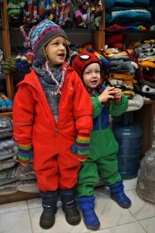 Kathmandu with kids