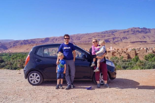 Morocco family road trip