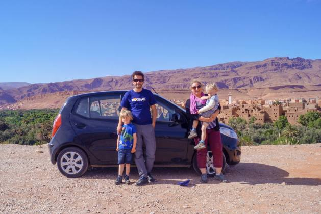 Morocco family road trip