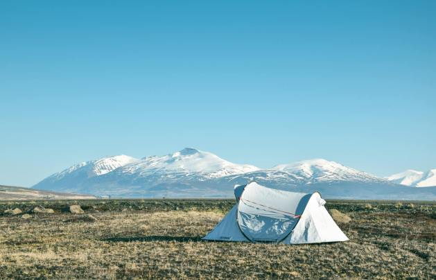 Things to do in Iceland with kids - camping