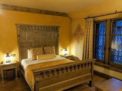 double bed room at Puy du Fou