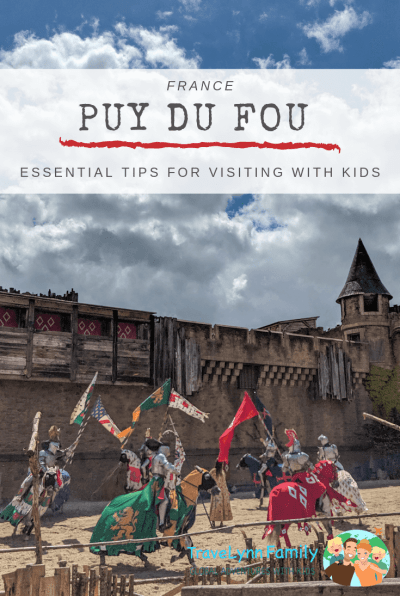 Puy du Fou with kids pin