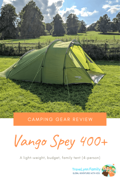 Vango Spey 400+ review pin