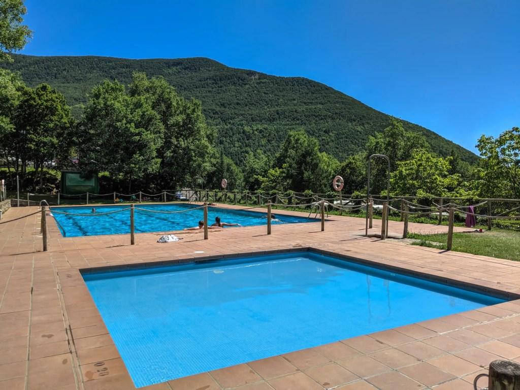 swimming pool at Camping Gavin