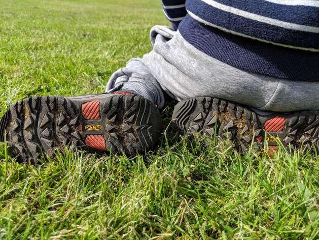 Kids' Targhee Waterproof Hiking Boots sole