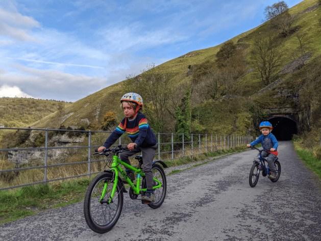boys on Frog bikes