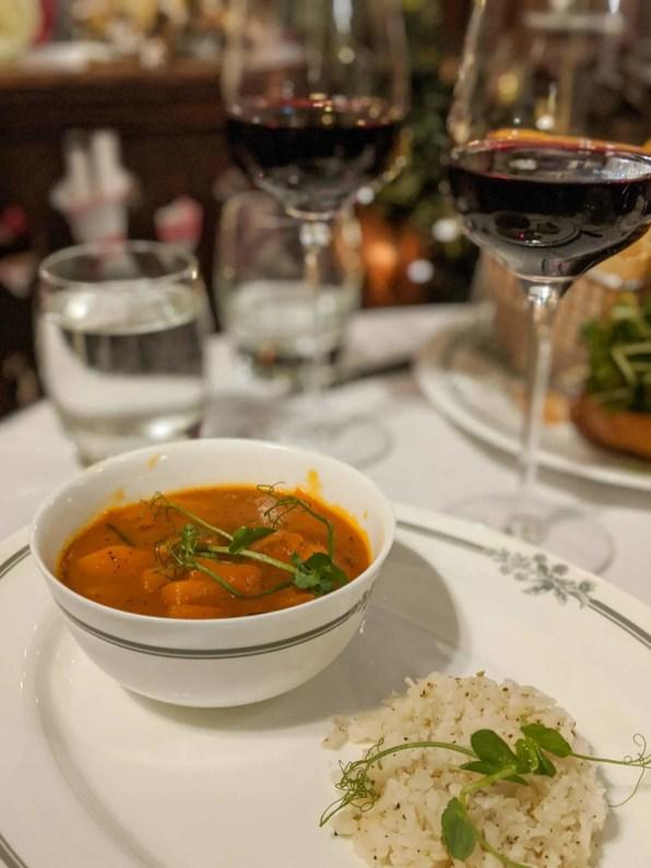 Dinner at Laura Ashley Hotel