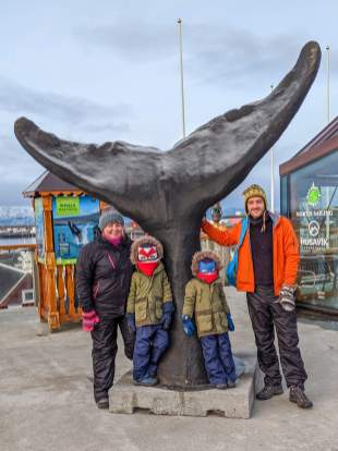 Meeting point for our Husavik whale watching tour