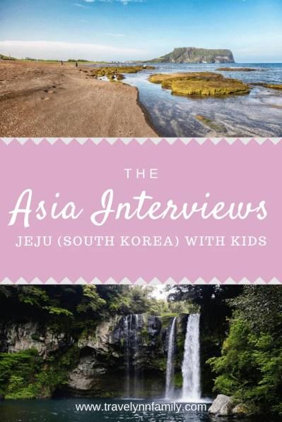 Jeju with kids pin