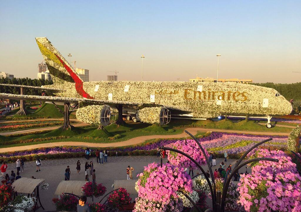 Dubai in April