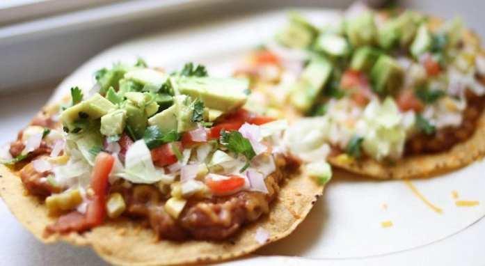 tostadas not tacos
