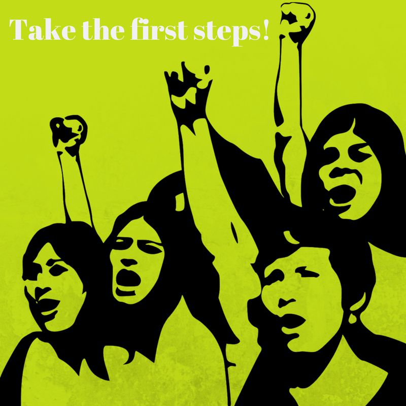 $-step formular to supporting the women's rights movement