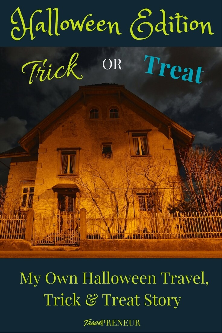 My Own Halloween Travel, Trick and Treat Story
