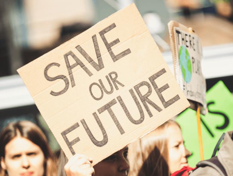Save The Future Protest