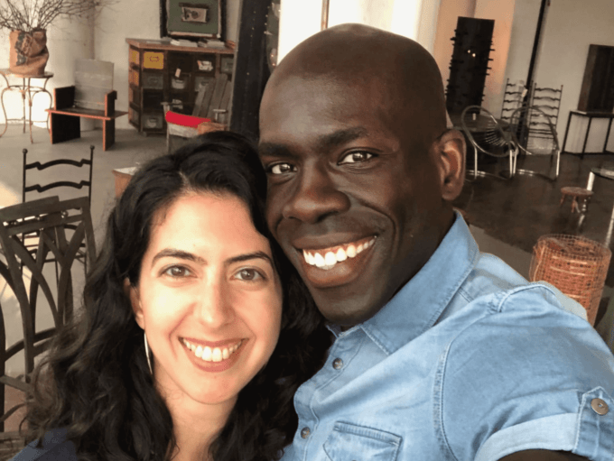 The founders of ExplorEquity, Catarina and Remi