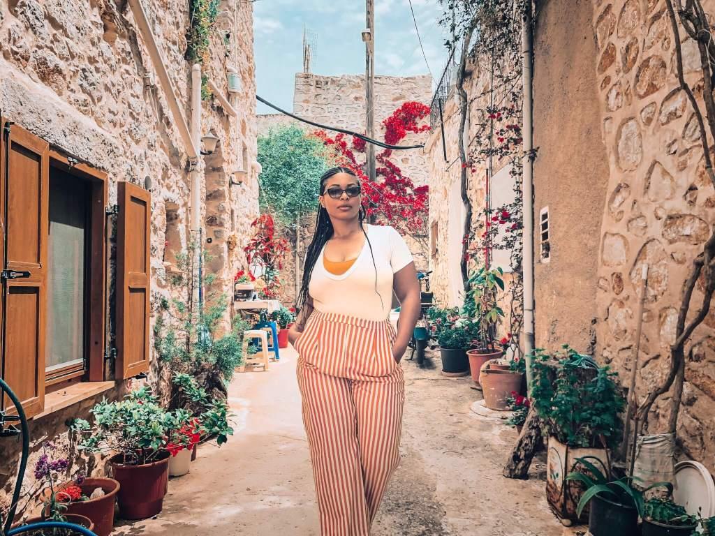 Strolling in Vessa, Chios Island