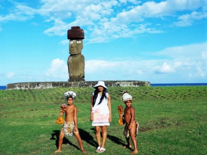 Woni Spotts, Easter Island