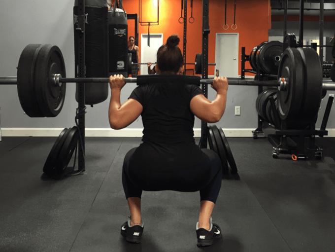Workout - Squat Pose