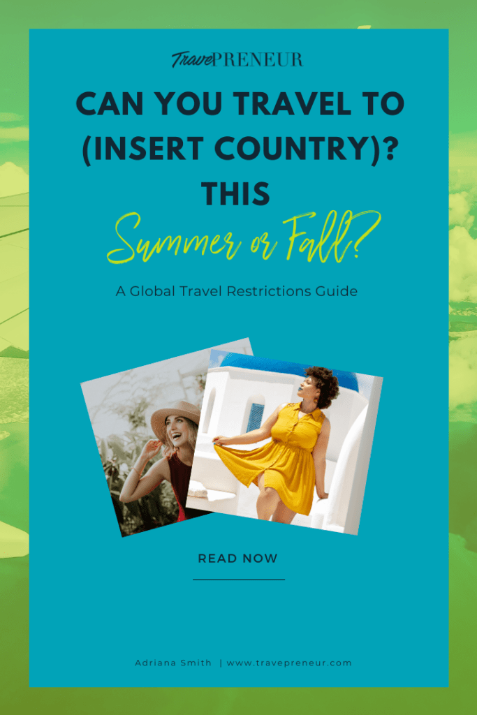 Pin - Can I Travel to (insert country)?