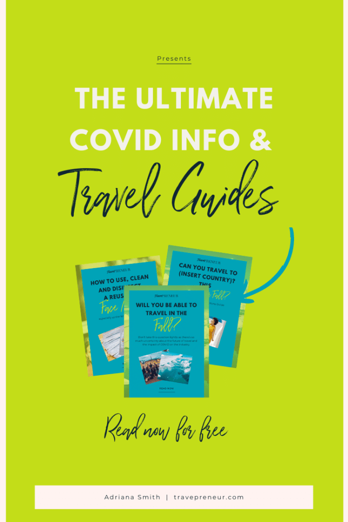 Pin - COVID-19 Info & Travel Guides