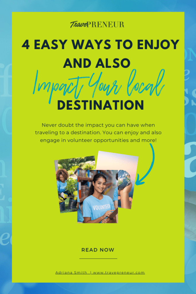 Impact Your Local Destination