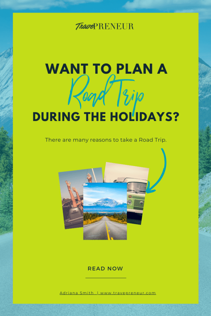 Pin: There are many reasons to take a Road Trip.