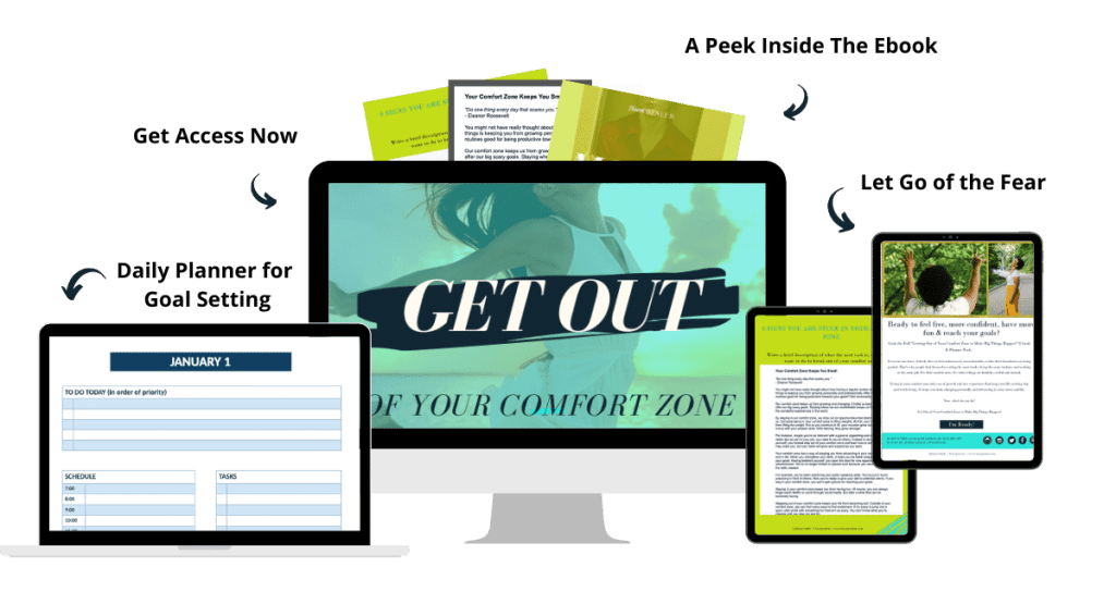 Get Out of Your Comfort Zone Ebook and Planner Pack