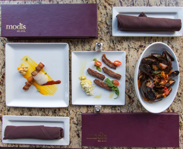 Photo courtesy of Modis Restaurant in Breckenridge, CO