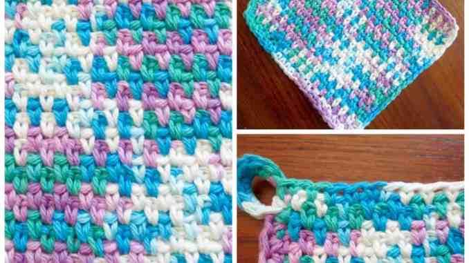 Crochet Dishcloth Free Crochet Pattern Crochet Kitchen For The