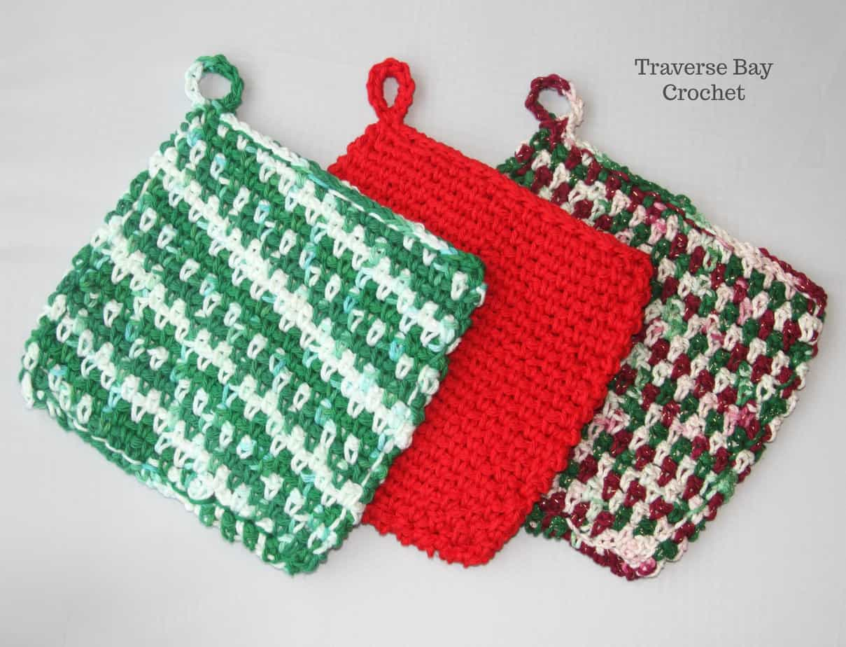Easiest Crochet Kitchen Potholder