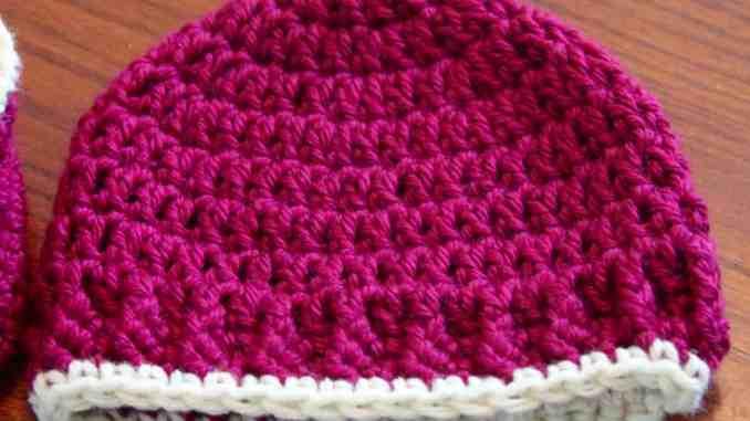 Crochet Baby Hat Free Pattern Crochet Newborn Hat Free Pattern