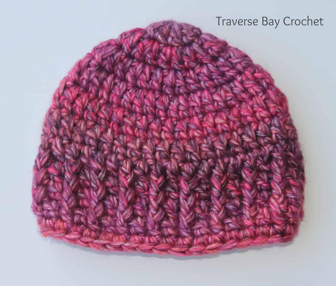 Quick Easy Crochet Baby Hat