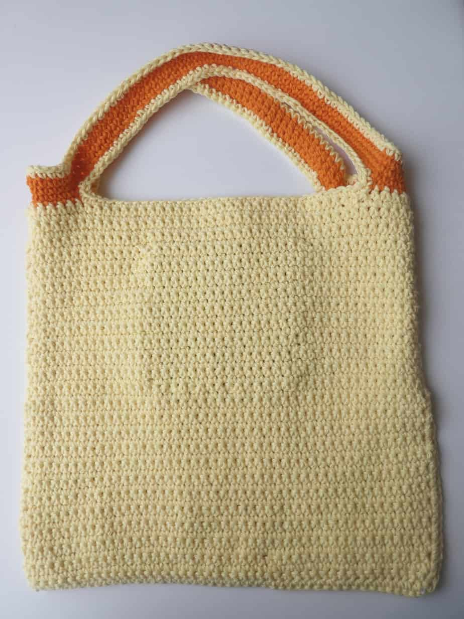 Crochet Pineapple Tote Bag